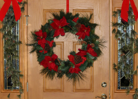 Make a home-grown Christmas wreath